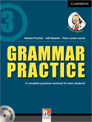 Grammar Practice Level 3 Paperback with CD-ROM: A Complete Grammar Workout for Teen Students (BOK)