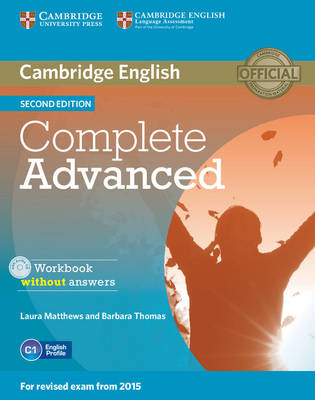 Complete Advanced Workbook without Answers with Audio CD (BOK)