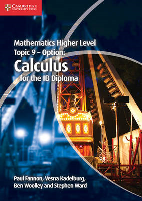 Mathematics Higher Level for the IB Diploma Option Topic 9 C (BOK)