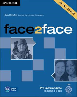 Face2face Pre-intermediate Teacher's Book with DVD (BOK)