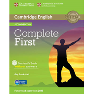 Complete First Student's Book without Answers with CD-ROM (BOK)