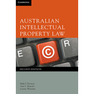 Australian Intellectual Property Law (BOK)