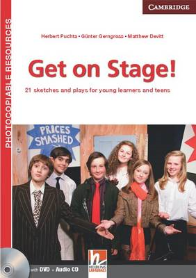 Get on Stage! Teacher's Book with DVD and Audio CD (BOK)