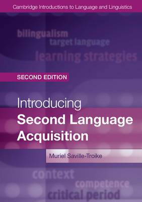 Introducing Second Language Acquisition (BOK)