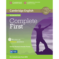 Complete First Workbook without Answers with Audio CD (BOK)