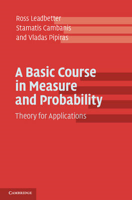 Basic Course in Measure and Probability (BOK)