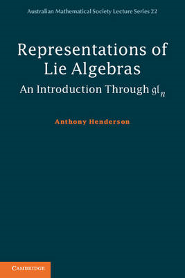 Representations of Lie Algebras (BOK)