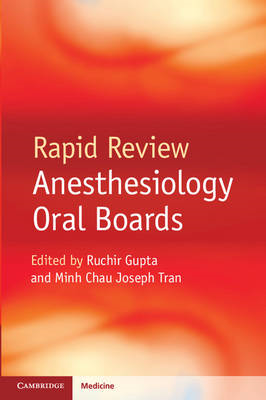 Rapid Review Anesthesiology Oral Boards (BOK)