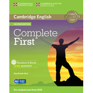 Complete First Student's Book with Answers with CD-ROM (BOK)