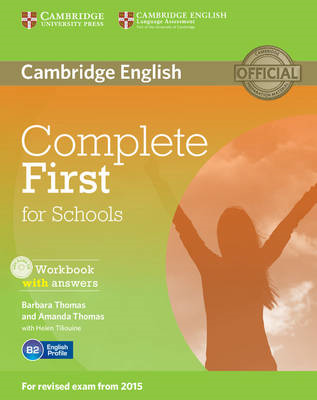 Complete First for Schools Workbook with Answers with Audio (BOK)