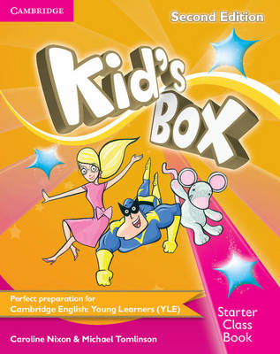 Kid's Box Starter Class Book with CD-ROM (BOK)