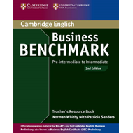 Business Benchmark Pre-intermediate to Intermediate BULATS and Business Preliminary Teacher's Resour (BOK)