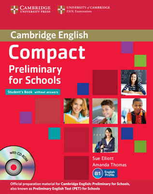 Compact Preliminary for Schools Student's Pack (Student's Bo (BOK)