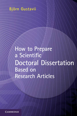 How to Prepare a Scientific Doctoral Dissertation Based on R (BOK)