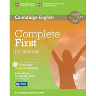 Complete First for Schools Workbook without Answers with Aud (BOK)
