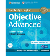 Objective Advanced Student's Book without Answers with CD-RO (BOK)