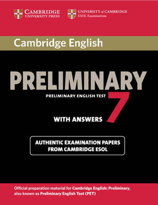 Cambridge English Preliminary 7 Student's Book with Answers (BOK)