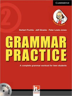 Grammar Practice Level 2 Paperback with CD-ROM: A Complete Grammar Workout for Teen Students (BOK)