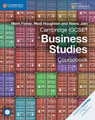 Cambridge IGCSE (R) Business Studies Coursebook with CD-ROM (BOK)