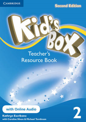 Kid's Box Level 2 Teacher's Resource Book with Online Audio: Level 2 (BOK)