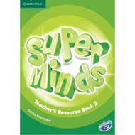 Super Minds Level 2 Teacher's Resource Book with Audio CD (BOK)