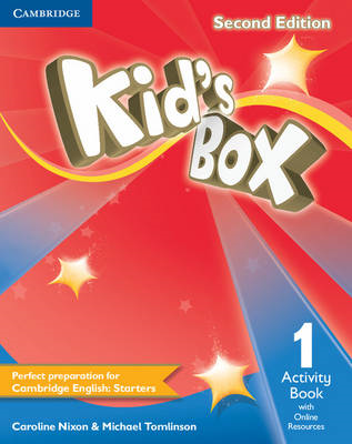 Kid's Box Level 1 Activity Book with Online Resources: Level 1 (BOK)