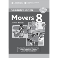 Cambridge English Young Learners 8 Movers Answer Booklet (BOK)