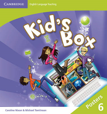 Kid's Box Level 6 Posters (8) (BOK)