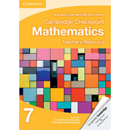 Cambridge Checkpoint Mathematics Teacher's Resource 7 (BOK)