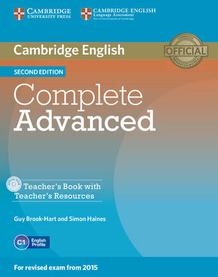 Complete Advanced Teacher's Book with Teacher's Resources Cd (BOK)