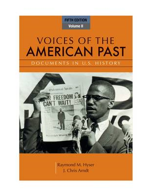 Voices of the American Past, Volume II (BOK)
