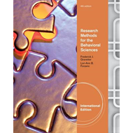 Research Methods for the Behavioral Sciences, International (BOK)