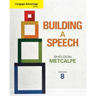 Cengage Advantage Books: Building a Speech (BOK)