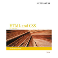 New Perspectives on HTML and CSS (BOK)