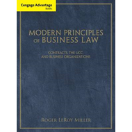 Cengage Advantage Books: Modern Principles of Business Law (BOK)