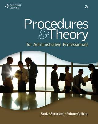 Procedures & Theory for Administrative Professionals (BOK)