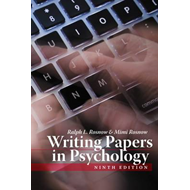 Writing Papers In Psychology (BOK)