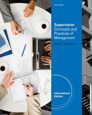 Supervision: Concepts and Practices of Management (BOK)