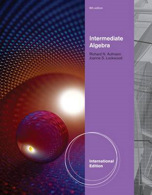 Intermediate Algebra With Applications (BOK)