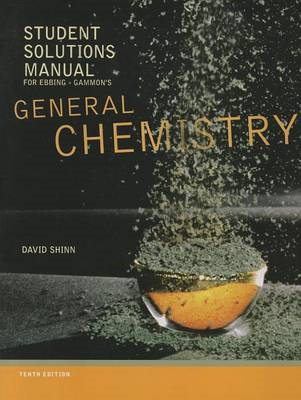 General Chemistry: Student Solutions Manual (BOK)