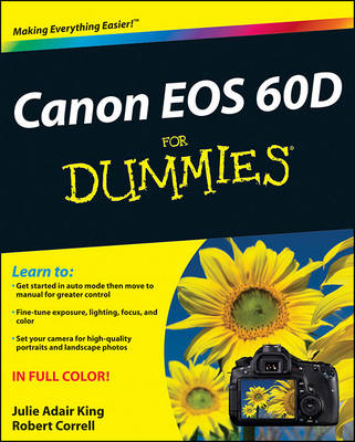 Canon EOS 60D For Dummies (BOK)