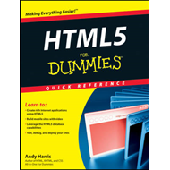 HTML5 For Dummies Quick Reference (BOK)