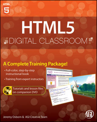 HTML5 Digital Classroom: (Book and Video Training) (BOK)