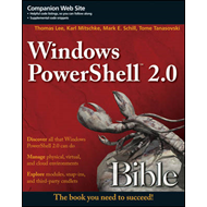 Windows PowerShell 2.0 Bible (BOK)