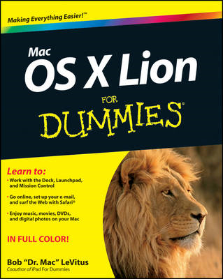 Mac OS X Lion For Dummies (BOK)