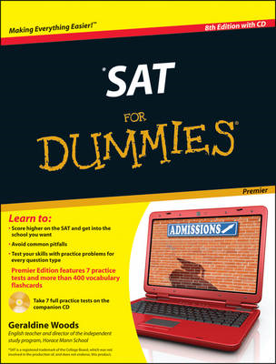 SAT For Dummies: with CD (BOK)