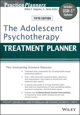 Adolescent Psychotherapy Treatment Planner (BOK)