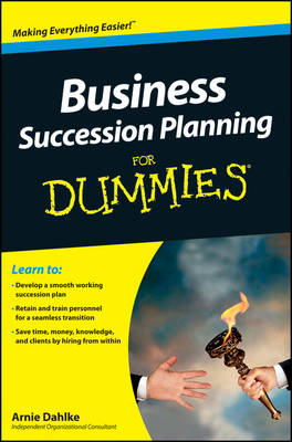 Business Succession Planning For Dummies (BOK)