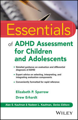 Essentials of ADHD Assessment for Children and Adolescents (BOK)