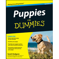 Puppies for Dummies, 3rd Edition (BOK)